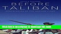 Download Before Taliban: Genealogies of  the Afghan Jihad  PDF Free