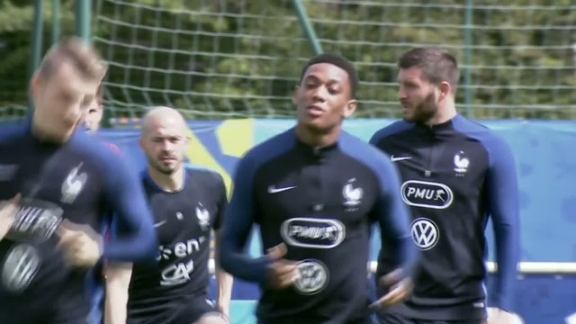 Foot - Bleus : Martial veut aller de l'avant