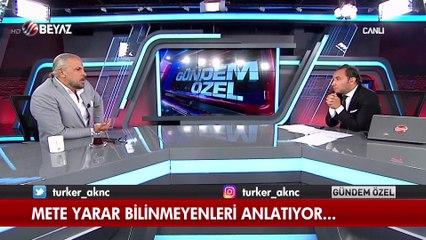 Mete Yarar : Darbe girişmini bozan Cumhurbaşkanı Erdoğan'nın çağrısıdır