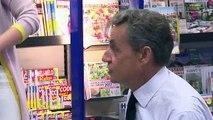 Nicolas Sarkozy dédicace son livre à La Baule