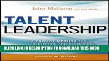 [PDF] Talent Leadership: A Proven Method for Identifying and Developing High-Potential Employees