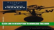 [Read PDF] Material Faith: Thoreau on Science (Spirit of Thoreau) Download Online