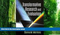 Big Deals  Transformative Research and Evaluation  Free Full Read Best Seller