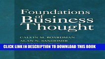[PDF] Foundations of Business Thought Full Colection