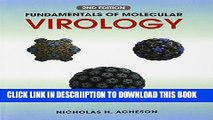 [New] Fundamentals of Molecular Virology Exclusive Full Ebook