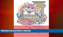 READ BOOK  Adult Stress Relief Coloring Book: Stress Relieving Gorgeous Cats and Kittens: