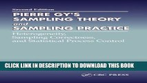 [PDF] Pierre Gy s Sampling Theory and Sampling Practice. Heterogeneity, Sampling Correctness, and