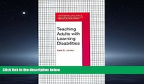 Online eBook Teaching Adults With Learning Disabilities (Professional Practices in Adult Education