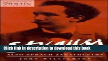 Download Strauss: Also sprach Zarathustra (Cambridge Music Handbooks)  PDF Free