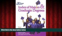 Popular Book The College Board Index of Majors   Graduate Degrees 2004: All-New Twenty-sixth Edition