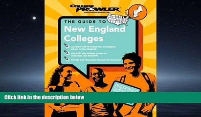 Popular Book New England Colleges (College Prowler) (College Prowler: New England Colleges)