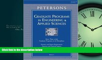 Enjoyed Read Grad Guides BK5: Engineer/Appld Scis 2007 (Peterson s Graduate Programs in