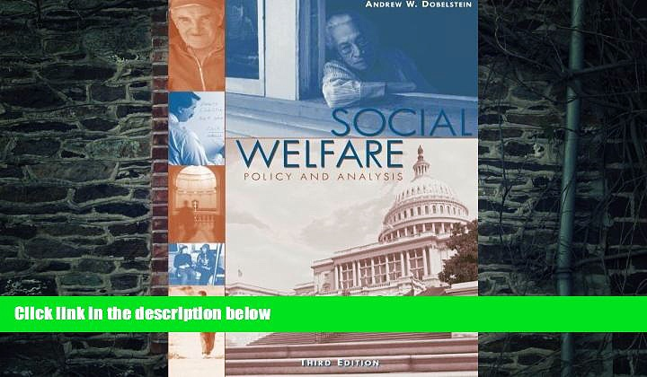 Big Deals  Social Welfare: Policy and Analysis (Social Welfare Policy   History)  Best Seller