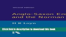 Download Anglo Saxon England and the Norman Conquest (Social and Economic History of England)  PDF