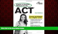 Online eBook English and Reading Workout for the ACT, 2nd Edition (College Test Preparation)