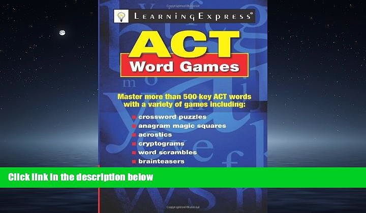 For you ACT Word Games