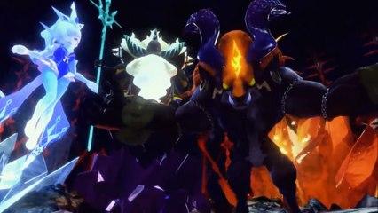 World of Final Fantasy : Gameplay en anglais