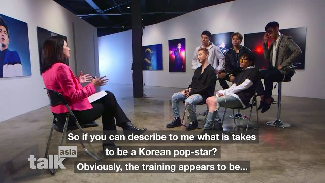[ENGSUB] 빅뱅 BIGBANG ~ Do K-pop stars really train harder than Olympic athletes? -- CNN