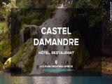 Hôtel Restaurant – Les Planches près Arbois  dans le Jura (39) – Hôtel Castel Damandre