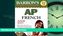 Online eBook Barron s AP French with Audio CDs (Barron s AP French Language   Culture (W/CD))