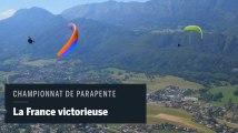 Le spectaculaire championnat du monde de parapente acrobatique au lac d'Annecy