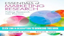[PDF] Essentials of Marketing Research: Putting Research Into Practice Popular Collection
