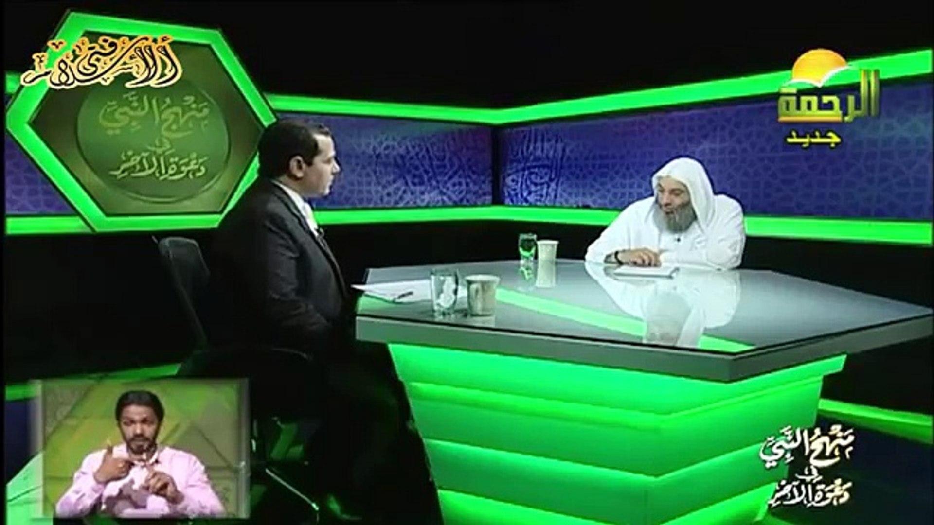الاسلام اسلامية منهج النبى فى دعوة الاخر بلغة الاشارة الحلقة 5