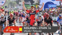 Resumen - Etapa 16 (Alcañiz / Peñíscola) - La Vuelta a España 2016