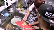 [ENG] 140623 Eds: 1st BTS Birt  ay P-y (Jin chef of BTS)