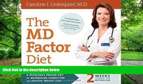 Big Deals  The MD Factor Diet: A Physician's Proven Diet for Metabolism Correction and Healthy