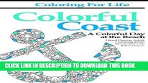 Collection Book Coloring for Life: Colorful Coast: A Colorful Day at the Beach