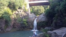 Neela Sandh picnic point featuring waterfall and swimming pools in Islamabad