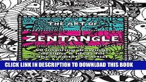 New Book The Art of Zentangle: 50 inspiring drawings, designs   ideas for the meditative artist