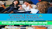 [PDF] Caring Hearts and Critical Minds: Literature, Inquiry, and Social Responsibility Full