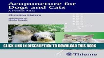 [New] Acupuncture for Dogs and Cats: A Pocket Atlas Exclusive Online