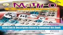 [Best] Math-O: Games for Middle-Grade Math   Algebra Classes, Grades 5-8+ Free Ebook