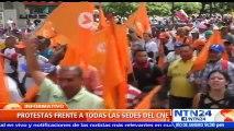 Oposición venezolana convoca a nueva marcha el próximo 7 de septiembre para exigir fecha de recolección de firmas para revocatorio