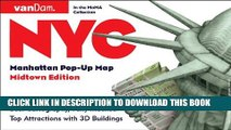 [Read PDF] Pop-Up NYC Map by VanDam - City Street Map of New York City, New York - Laminated