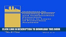[PDF] Guidelines for Initiating Events and Independent Protection Layers in Layer of Protection