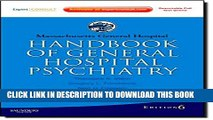 [PDF] Massachusetts General Hospital Handbook of General Hospital Psychiatry: Expert Consult -