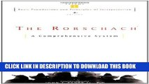 Collection Book The Rorschach, Basic Foundations and Principles of Interpretation Volume 1