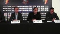 Grenoble - Conférence de presse des Brûleurs de Loups, 1ére partie