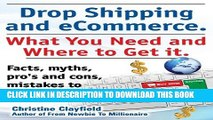 [PDF] Drop Shipping and Ecommerce, What You Need and Where to Get It. Dropshipping Suppliers and