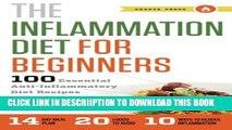 Ebook Inflammation Diet for Beginners: 100 Essential Anti