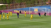 FCB Masia: A familiar goal scored by Carles Pérez (Juvenil)