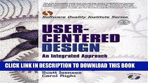 [PDF] User-Centered Design: An Integrated Approach Popular Online