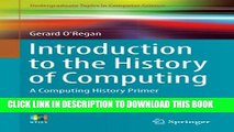 [PDF] Introduction to the History of Computing: A Computing History Primer (Undergraduate Topics