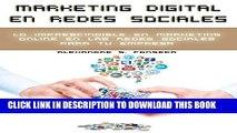 [PDF] Marketing Digital en Redes Sociales: Lo imprescindible en marketing online en las redes