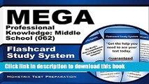 Read MEGA Professional Knowledge: Middle School (062) Flashcard Study System: MEGA Test Practice