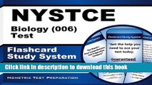Read NYSTCE Biology (006) Test Flashcard Study System: NYSTCE Exam Practice Questions   Review for